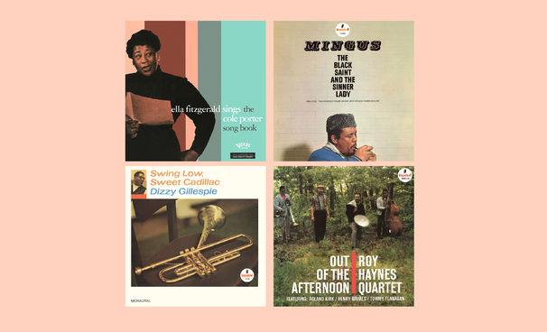 JazzEcho-Plattenteller, Vitales Vinyl - neue Jazzklassiker von Impulse! und Verve auf LP