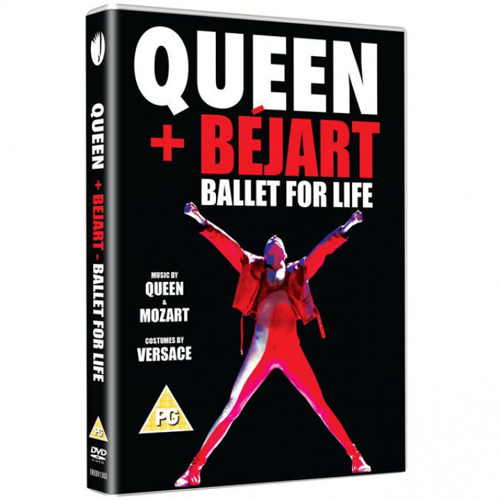Queen Ballet For Life DVD Packshot