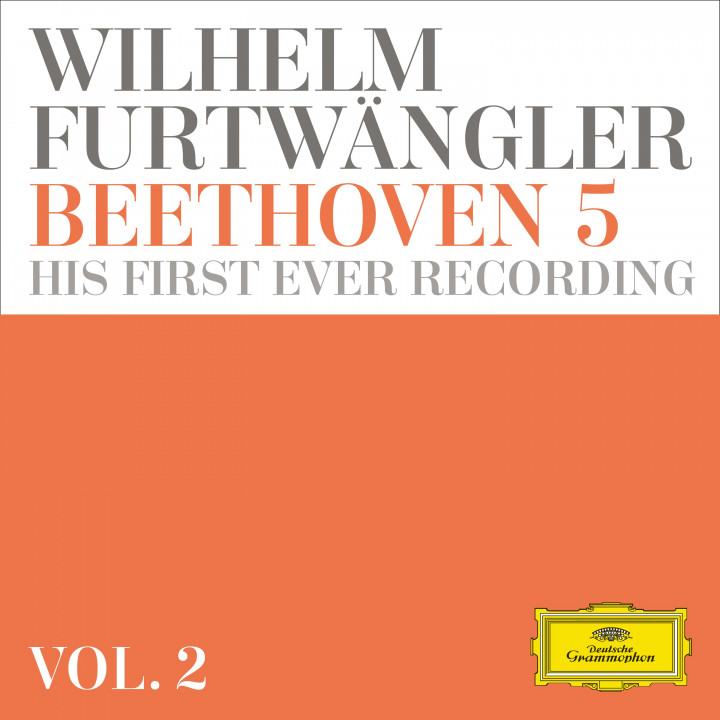 Wilhelm Furtwängler: Beethoven 5 - his first ever recording