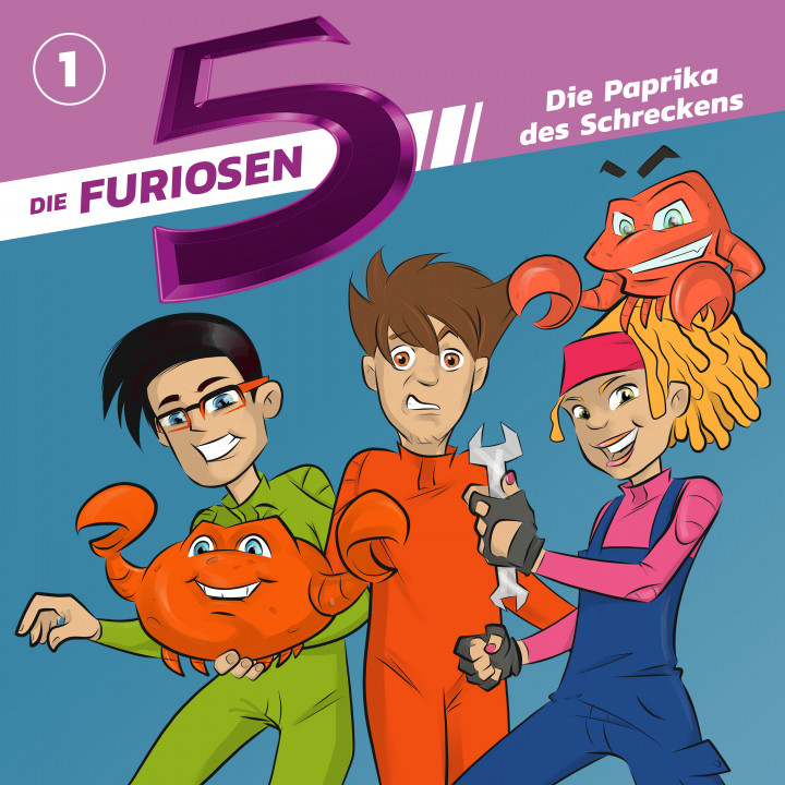Die Furiosen 5 01: Die Paprika des Schreckens Cover