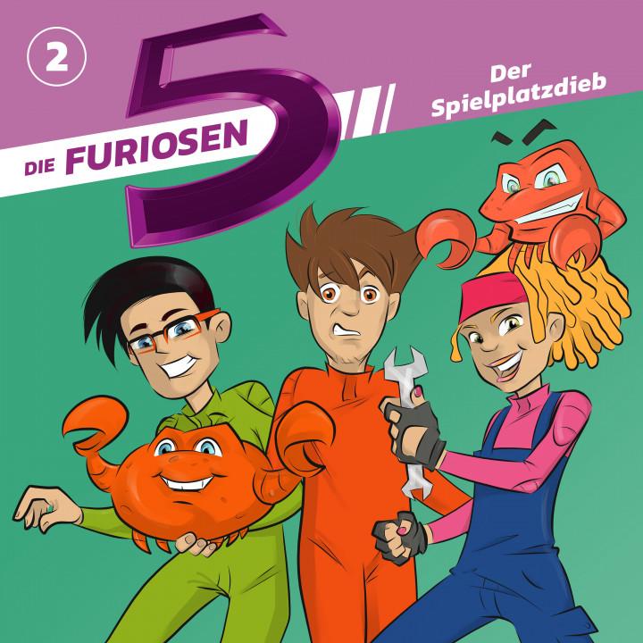 Die Furiosen 5 02: Der Spielplatzdieb Cover