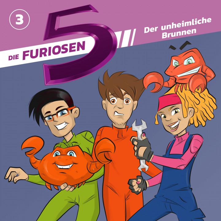 Die Furiosen 5 03: Der unheimliche Brunnen Cover