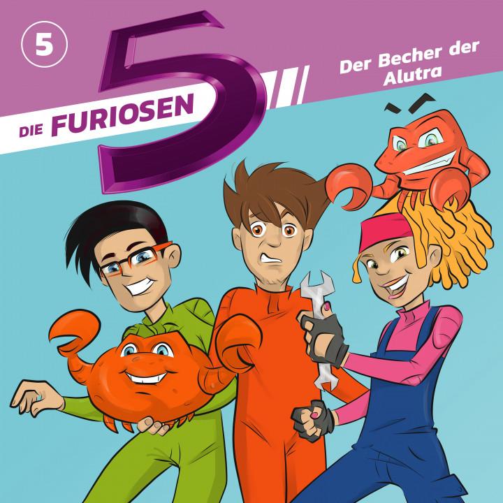 Die Furiosen 5 05: Der Becher der Alutra Cover