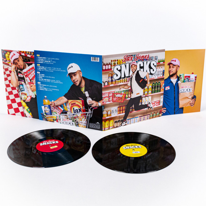Jax Jones Snacks (Supersize) - Vinyl