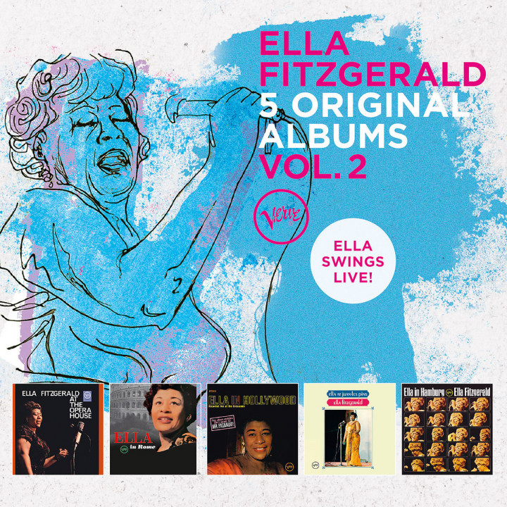 5 Original Albums - Vol. 2 (Ella Swings Live)