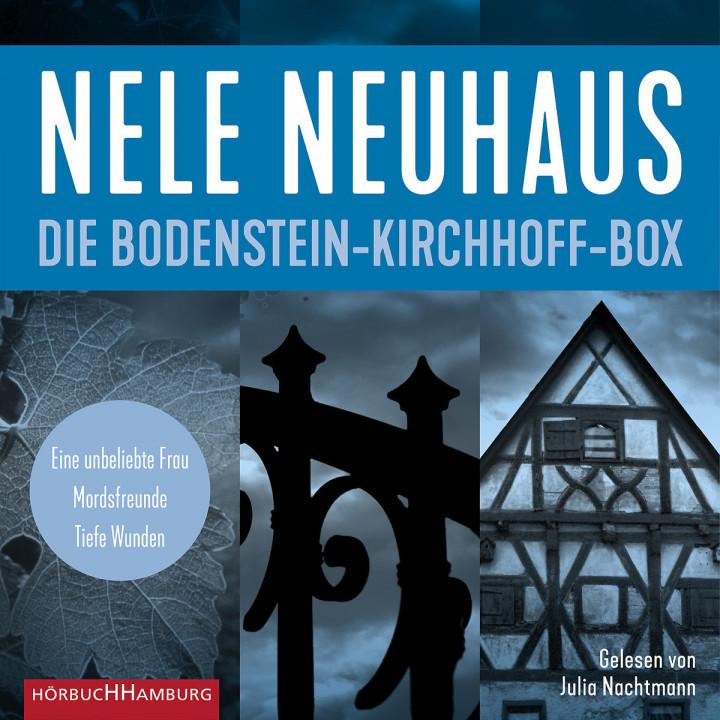 Nele Neuhaus: Die Bodenstein-Kirchhoff-Box (Cover)