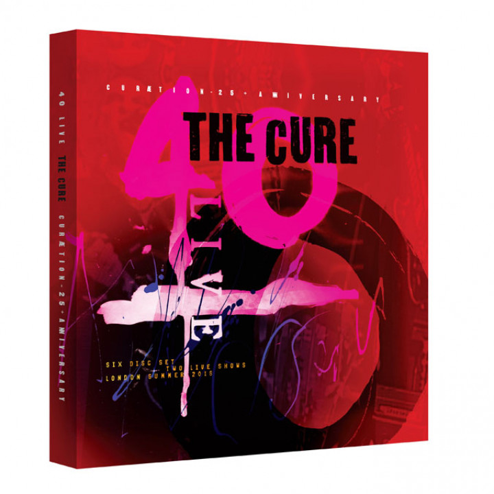 The Cure Packshot 2DVD 4CD