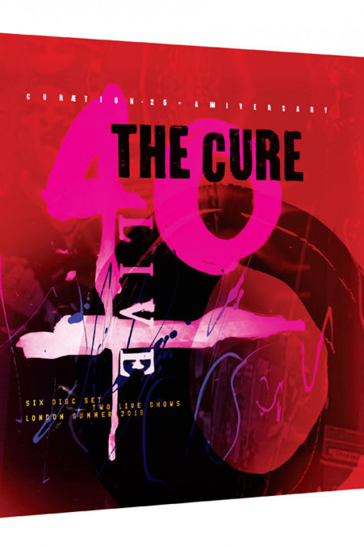 The Cure 2BR4CD Packshot
