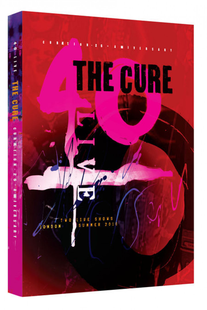 The Cure 2DVD Packshot