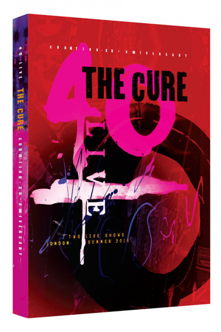 The Cure 2BluRay Packshot