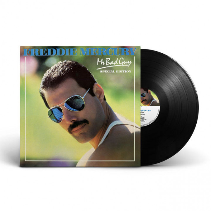 Freddie Mercury Mr Bad Guy LP Packshot