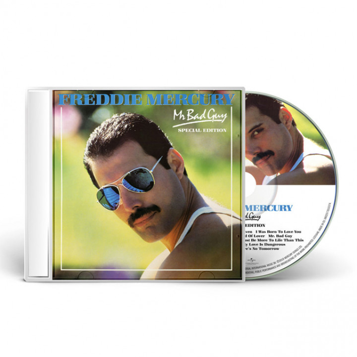 Freddie Mercury Mr Bad Guy CD Packshot