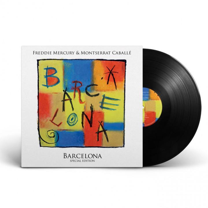 Freddie Mercury Barcelona LP Packshot