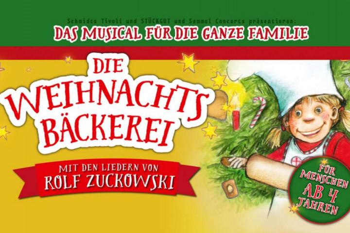 Rolf Zuckowski - Die Weihnachtsbäckerei Musical Banner