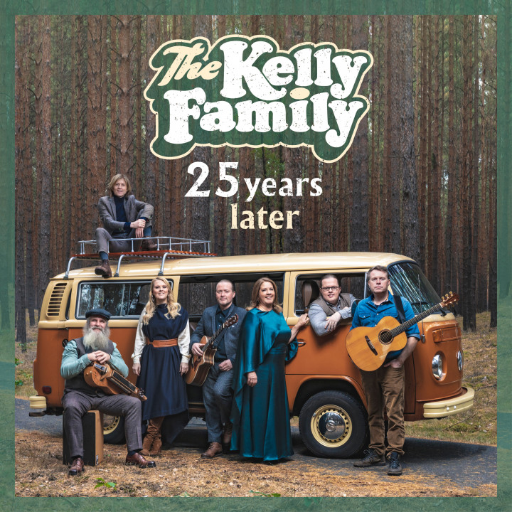 The Kelly Family 25 years later Cover Final