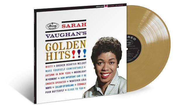 Sarah Vaughan, Sarah Vaughan - Goldkehle mit goldenen Hits