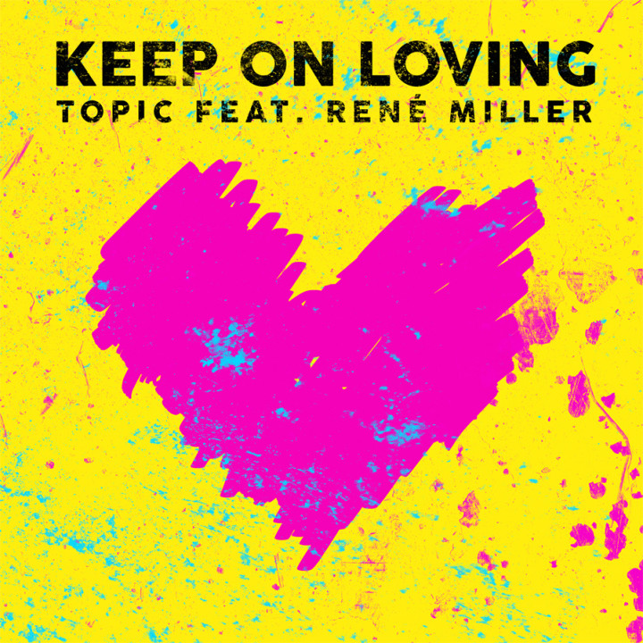 Topic feat. Rene Miller - Keep On Loving Single Cover