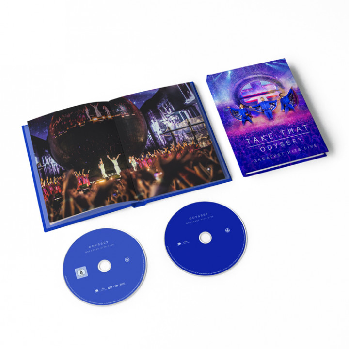 Take That Odyssey Greatest Hits Live DVD + CD