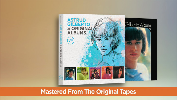Astrud Gillberto - 5 Original Album