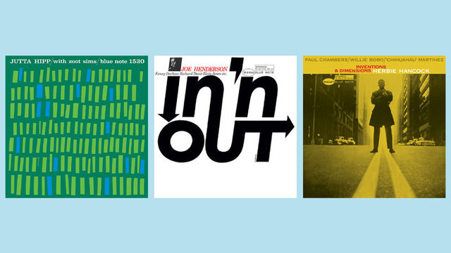 JazzEcho-Plattenteller, Great Reid Miles Covers - Gesamtkunstwerke, die ihrer Zeit voraus waren ...