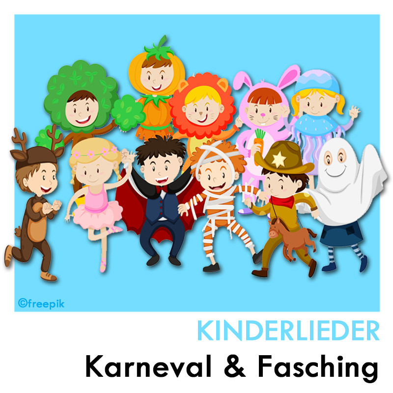 Karneval & Fasching Kinderlieder Playlist