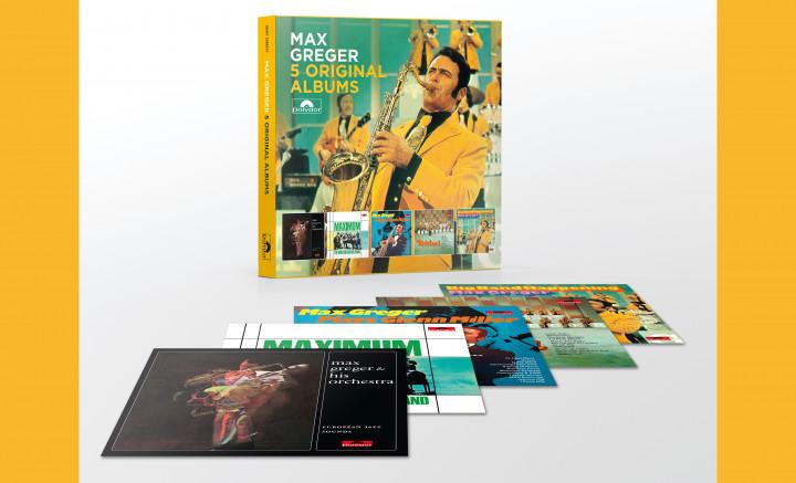 Max Greger - 5 Original Albums