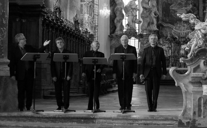 Hilliard Ensemble - David James, Steven Harrold, Roger Covey-Crump, Gordon Jones, Jan Gabarek