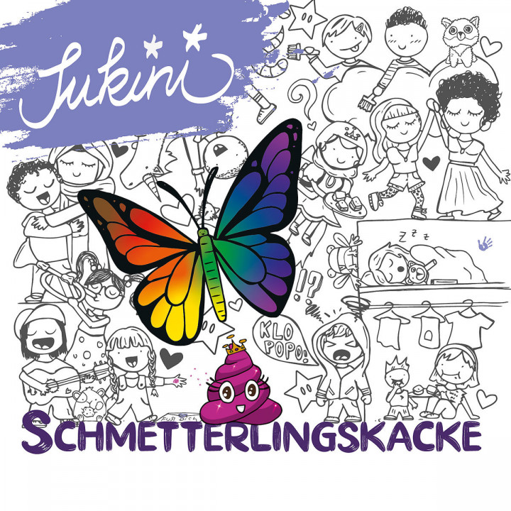 Schmetterlingskacke Cover 2