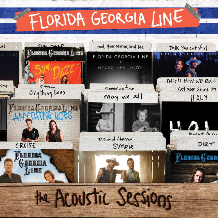 Florida Georgia Line - The Acoustic Sessions Cover