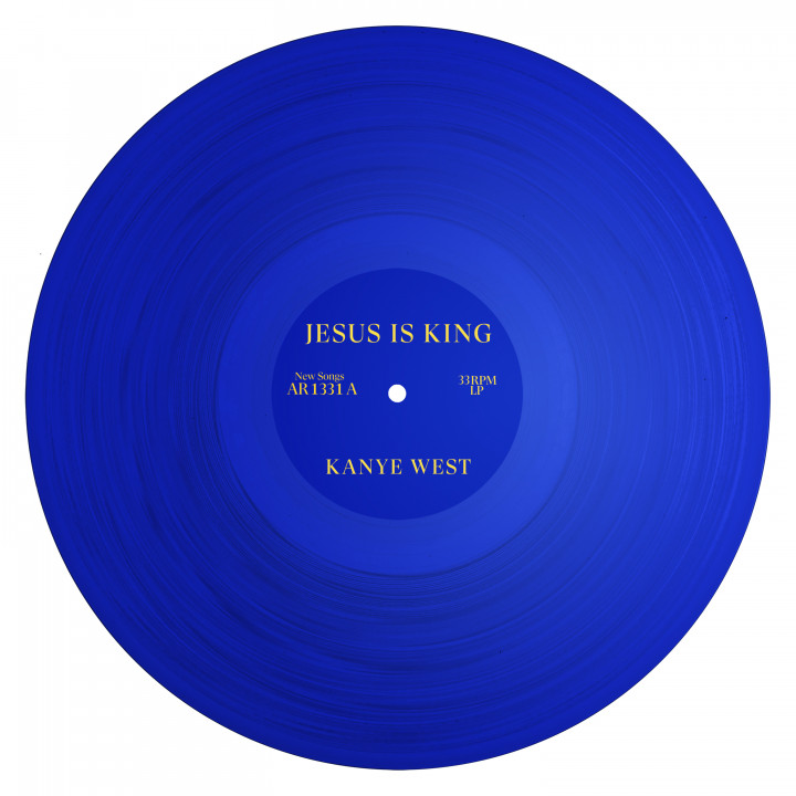 Kanye West - JESUS IS KING Cover