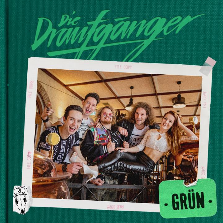 Die Draufgänger Grün Album Cover