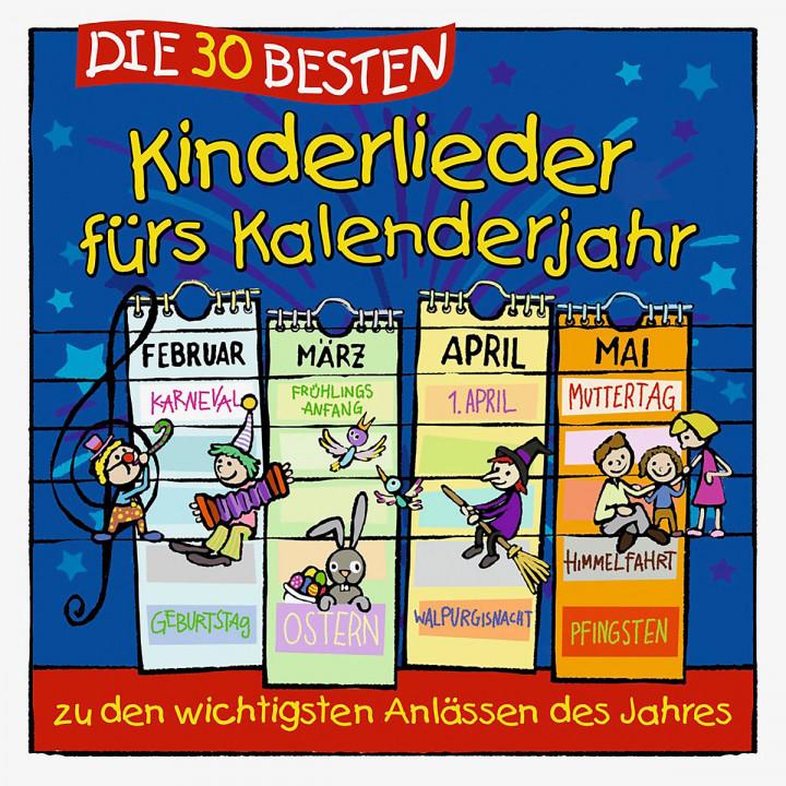 Die 30 besten Kinderlieder fürs Kalenderjahr