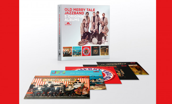 5 Original Albums - Old Merry Tale Jazzband