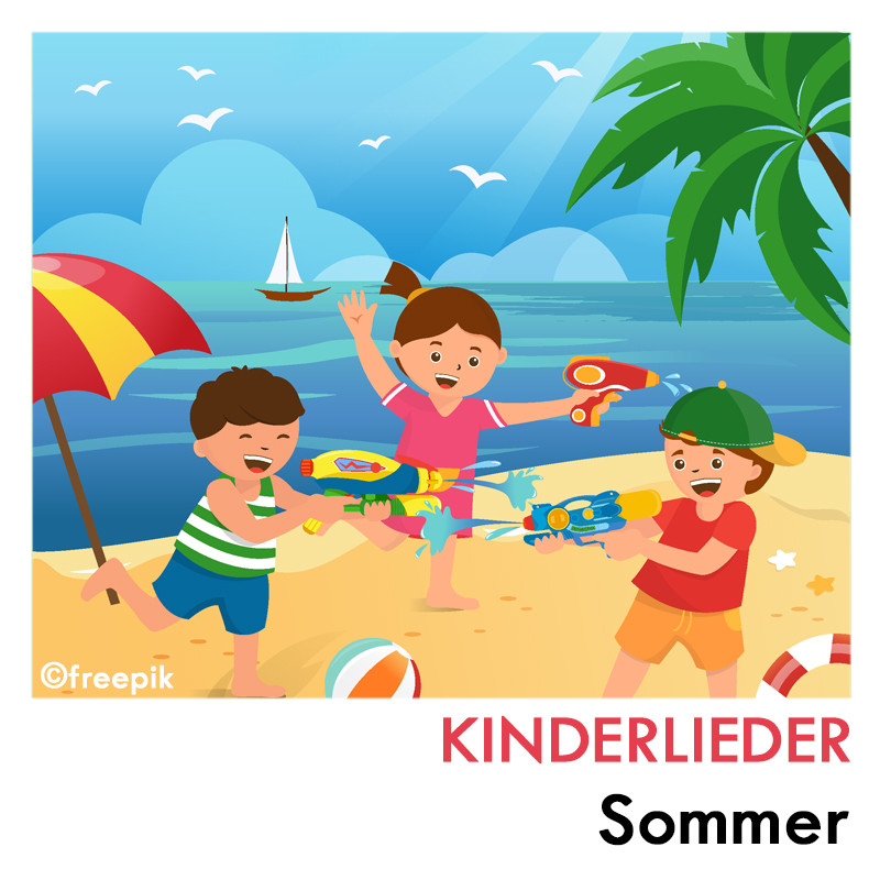 Sommer Kinderlieder Playlist