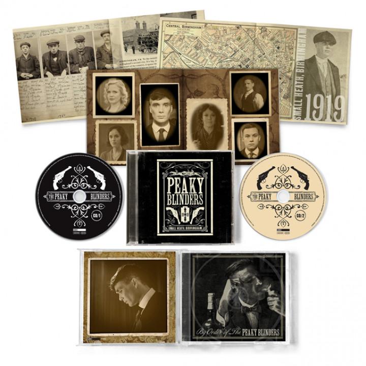 Peaky Blinders Packshot CD