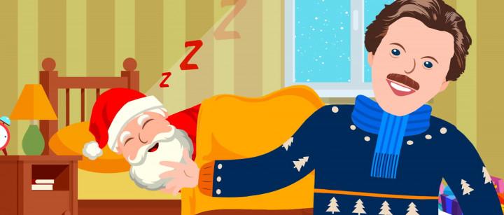 Weckt den Weihnachtsmann