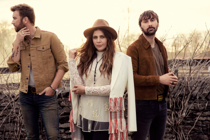 Lady Antebellum Ocean Press Picture