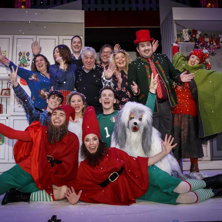 Die Weihnachtsbäckerei Cast und Rolf