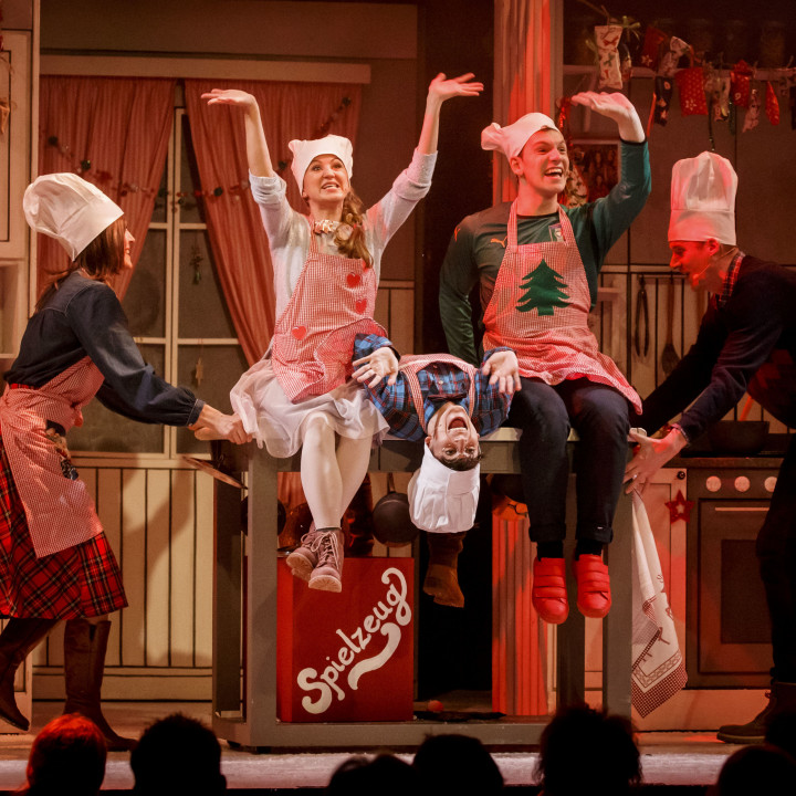 Die Weihnachtsbäckerei Das Musical—Premiere 1