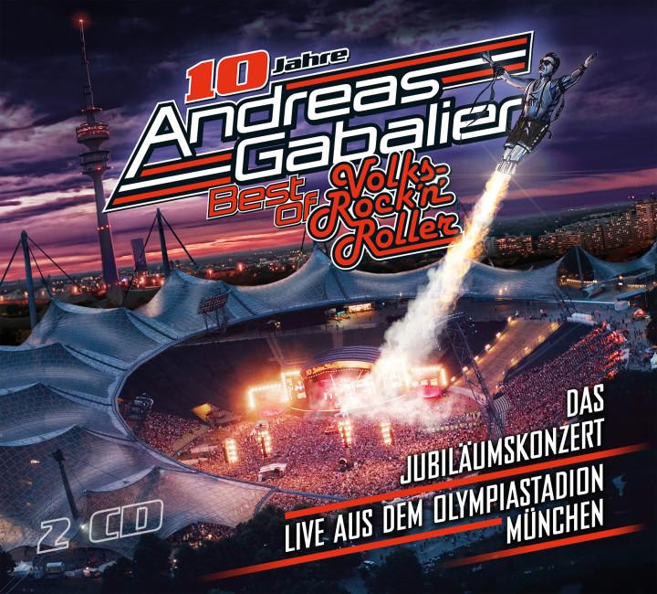 Gabalier Best Of Live 2CD Cover