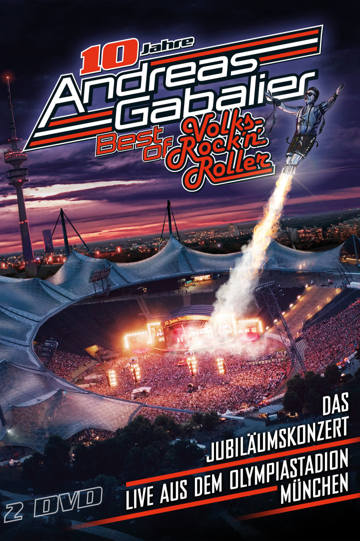 Gabalier Best Of Live 2DVD Cover