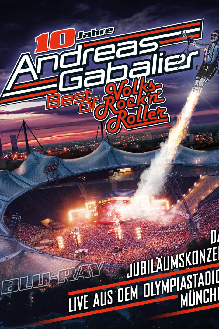 Gabalier Best Of Live Blu-Ray Cover