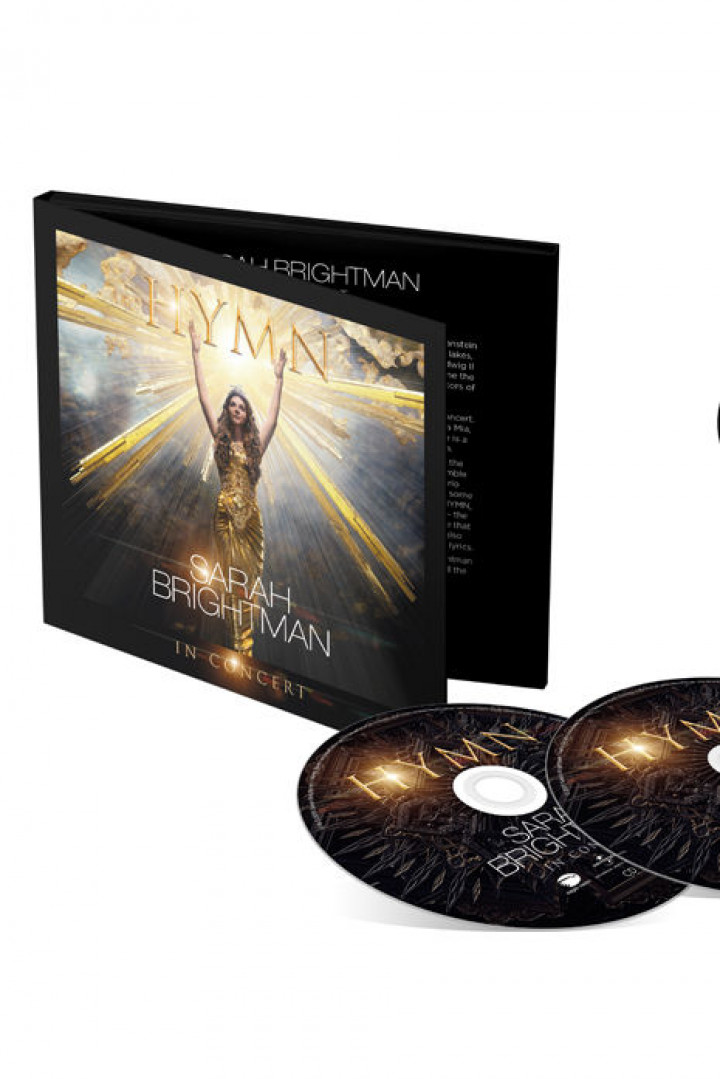 Sarah Brightman DVD + CD HYMN