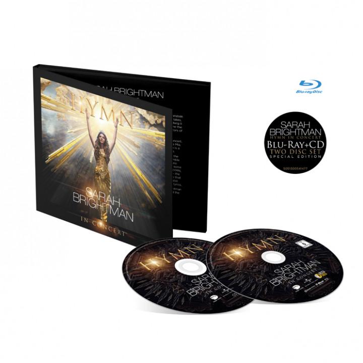 Sarah Brightman HYMN Blu-Ray + CD