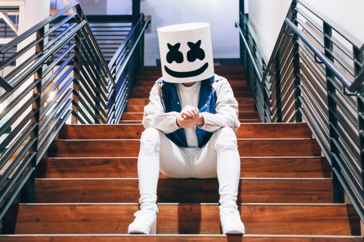 Marshmello Webgrafik 2019