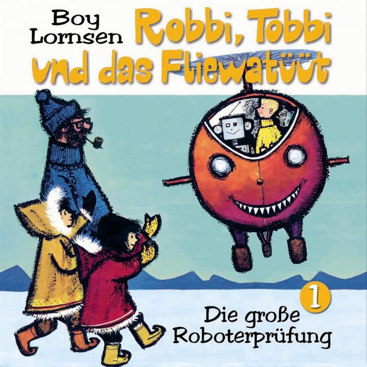 die große roboterprüfung cover