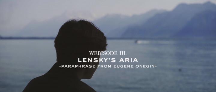 """Über Lenskis Arie aus """"Eugen Onegin"""""""