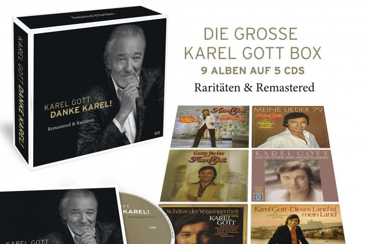 Karel Gott - Danke Karel - Box Mockup