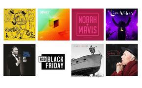 JazzEcho-Plattenteller, Black is Black - schwarze Scheiben zum Schwarzen Freitag