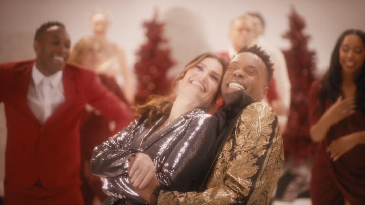 Idina Menzel ft. Billy Porter - I Got My Love To Keep Me Warm